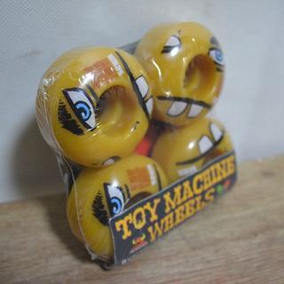 トイマシーン(Toy Machine)の新品格安で♪TOY MACHINE スケボー ウィール トイマシーン(スケートボード)