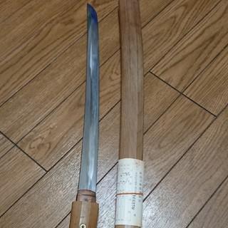 時代刀(日本刀)登録証有り。(武具)