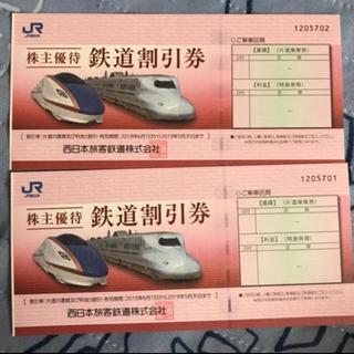 JR西日本 株主優待券