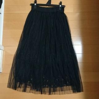 カラー(Color)の【未使用】Color レースプリーツスカート(ロングスカート)