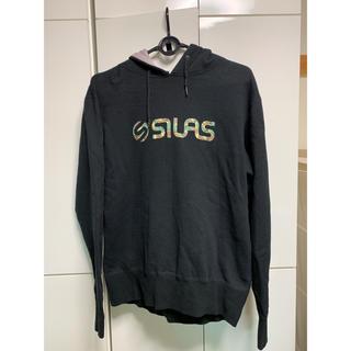 サイラス(SILAS)のSILAS パーカー ブラック M(パーカー)