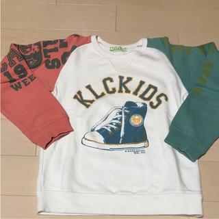 ケーエルシー(KLC)の値下げ!KLC トレーナー   女の子 140㎝(Tシャツ/カットソー)