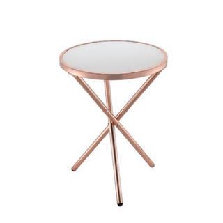 【11/27までの限定出品】ピンクゴールドサイドテーブル