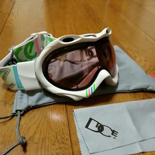 ダイス(DICE)のダイス DICE スノーボードゴーグル アジアンフィット 美品 ケース付き 球面(アクセサリー)