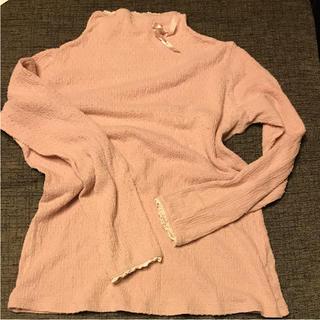 インゲボルグ  伸縮性抜群 ピンクハウス リボン レースカットソー Tシャツ