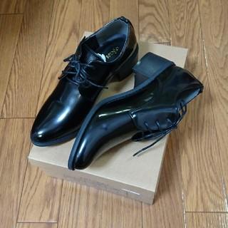 サンゴ(sango)の*試着のみ*[sango/サンゴ]レースアップシューズ ブラック(ローファー/革靴)