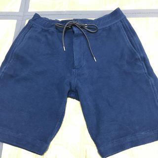 ジュンハシモト(junhashimoto)のjunhashimotoの青のハーフパンツです。(ショートパンツ)
