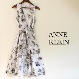 アンクライン(ANNE KLEIN)の美品 アンクライン ワンピース (ひざ丈ワンピース)