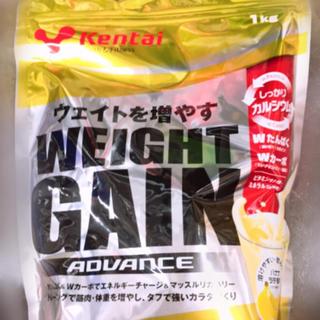 ケンタイ(Kentai)のプロテイン バナナラテ風味 1kg 未開封(プロテイン)