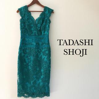 TADASHI SHOJI - 美品 タダシショウジ Tadashi Shoji レーワンピース