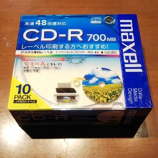 マクセル(maxell)のCD-R 700MB 10枚入り(PC周辺機器)