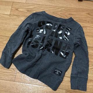 グルービーカラーズ(Groovy Colors)のグルービーカラーズ 薄手 スウェット 100(Tシャツ/カットソー)