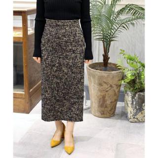 プラージュ(Plage)のPlage ツイードタイトスカート(ひざ丈スカート)