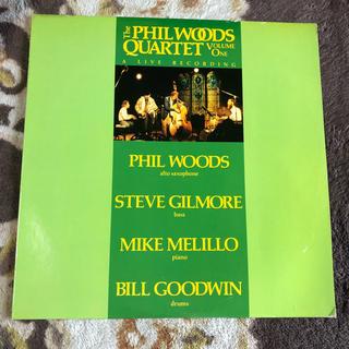 phil woods  Quartet  Vo.1  レコード(ジャズ)