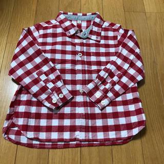 ムジルシリョウヒン(MUJI (無印良品))の無印良品 チェックシャツ(ブラウス)