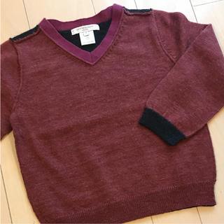 ギンザノサエグサ(SAYEGUSA)のサエグサ キャラメルベイビー ニット セーター サイズ4(ニット)