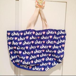 シェル(Cher)のcher♡キャンバストート(トートバッグ)