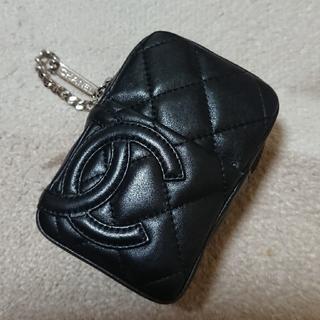 シャネル(CHANEL)の〘 正規品 ・ 美品  〙CHANEL   カンボンライン・タバコケース(財布)