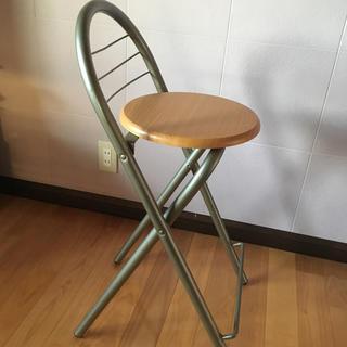 カウンター チェア 椅子  折りたたみ(折り畳みイス)