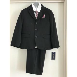 シマムラ(しまむら)の男の子 スーツ4点セット 120 新品 洗えるスーツ(ドレス/フォーマル)