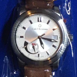 カーライフ(carlife)のカール F ブヘラー パトラビ 自動巻 パワーリザーブ (腕時計(アナログ))