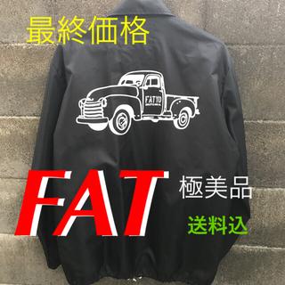 エフエーティー(FAT)のFAT ナイロンコーチジャケット SIZE:FAT (XL) 美品(ナイロンジャケット)