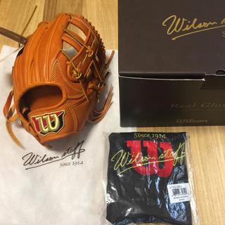 ウィルソンスタッフ(Wilson Staff)のウィルソン 硬式グラブ 内野 日本製 !(グローブ)