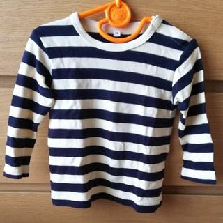 ムジルシリョウヒン(MUJI (無印良品))のにょろ様専用 無印 長袖Tシャツ 90(Tシャツ/カットソー)