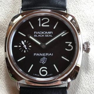 オフィチーネパネライ(OFFICINE PANERAI)のXPANSA様専用パネライ PAM00380ラジオミール ブラックシール ロゴ (腕時計(アナログ))
