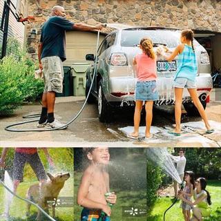 散水ホース 洗車 園芸 掃除 工事 ガーデン 散水用具(洗車・リペア用品)