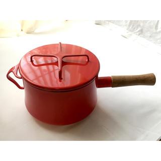 ダンスク(DANSK)のDANSK コベンスタイル 3QT片手鍋18cm 深型 チリレッド(鍋/フライパン)