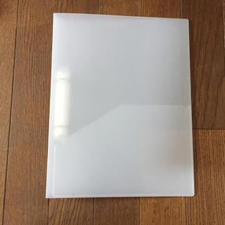 ムジルシリョウヒン(MUJI (無印良品))のMUJI A4 2穴リングファイル 8個セット (ファイル/バインダー)