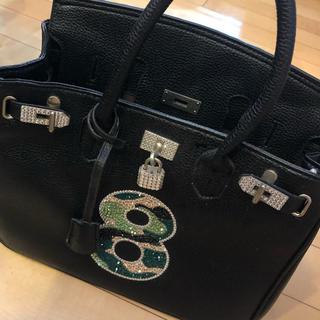 ジーボーラー(G-BALLER)のバッグ スワロフスキー 迷彩 黒 ジーボーラー(トートバッグ)