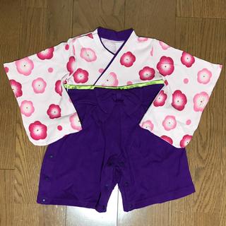 ベルメゾン - 袴 ロンパース 70 女の子