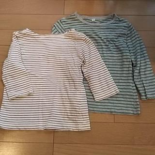 ムジルシリョウヒン(MUJI (無印良品))の無印良品 長袖トップス 2枚セット サイズ100 MUJI(Tシャツ/カットソー)