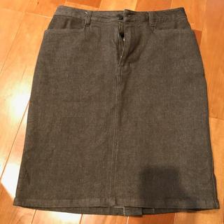 ギャミヌリィ(gaminerie)のギャミヌリィ♡ジーンズストレッチタイトスカート(ひざ丈スカート)