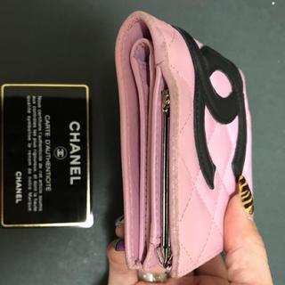 シャネル(CHANEL)のCHANELカンボンライン折り財布確認ページ(財布)
