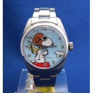 スヌーピーメタルウォッチ-snoopy腕時計(腕時計)