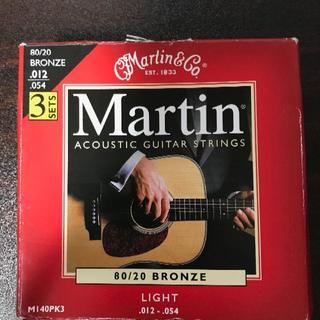 Martin アコギ弦 M140 ライト .012-.054 2セット(弦)