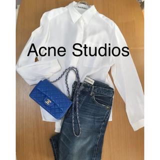 0472700613fd2c アクネ 白 シャツ/ブラウス(レディース/長袖)の通販 21点 | ACNEの ...