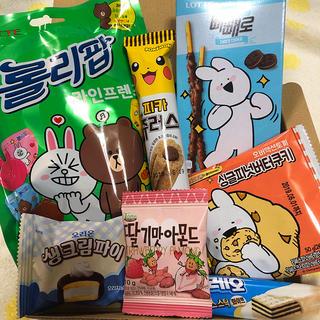 韓国☆お菓子詰め合わせ‼️67(菓子/デザート)