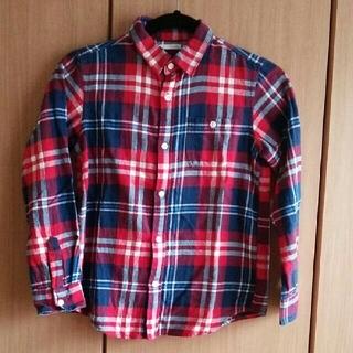 GU - ガールズGU140 チェックシャツ