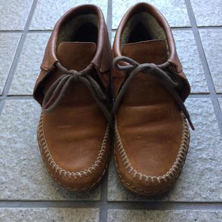 カンペール(CAMPER)のカンペール CAMPER ウィーバーブーツ(ローファー/革靴)