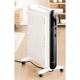 オイルヒーター 遠赤外線ヒーター キャスター付き 自動温度設定(オイルヒーター)