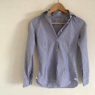 バルバ(BARBA)のバルバ ストライプシャツ 38(シャツ/ブラウス(長袖/七分))