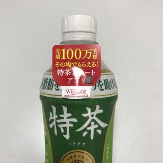 サントリー 特茶 プログラムキャンペーン シリアルナンバー15枚 ポイント消化