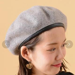 フーズフーチコ(who's who Chico)のベレー帽!最終値下げ!(ハンチング/ベレー帽)