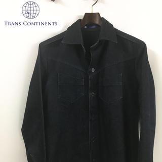 トランスコンチネンツ(TRANS CONTINENTS)のTrans  Continents トランスコンチネンツ デニムシャツ(Gジャン/デニムジャケット)