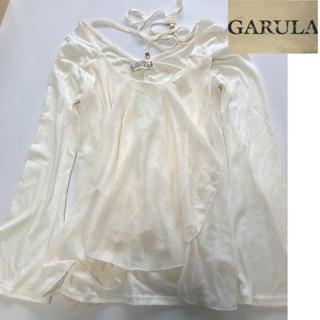ガルラ(GARULA)のGARULA♥︎シフォン×カット素材トップス♥︎1000円(カットソー(長袖/七分))