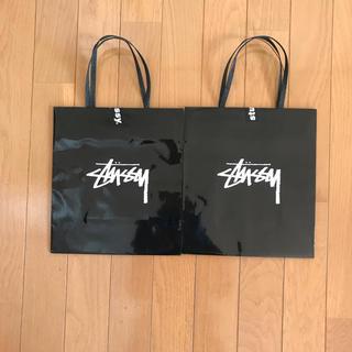 ステューシー(STUSSY)のstussy ショップ袋 2枚セット(ショップ袋)
